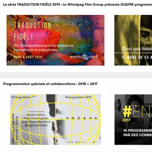 Les séries de films disponibles sur la plateforme VUCAVU.