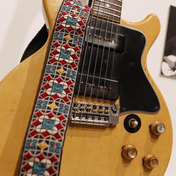 Une guitare Les Paul de Gibson datant des années 1960.