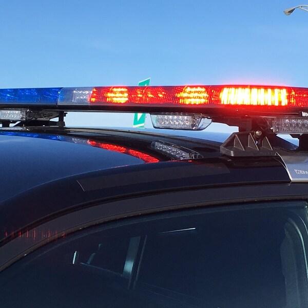Un véhicule de la Sûreté du Québec (SQ)