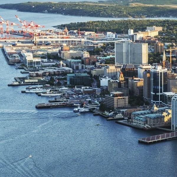 La ville d'Halifax en Nouvelle-Écosse