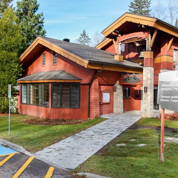 L'hôtel de ville de Lac-Beauport