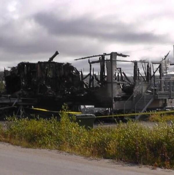 La Sûreté du Québec enquête sur un incendie criminel à Kuujjuaq.