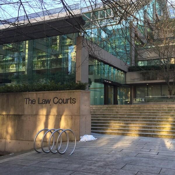 Le palais de justice de Vancouver