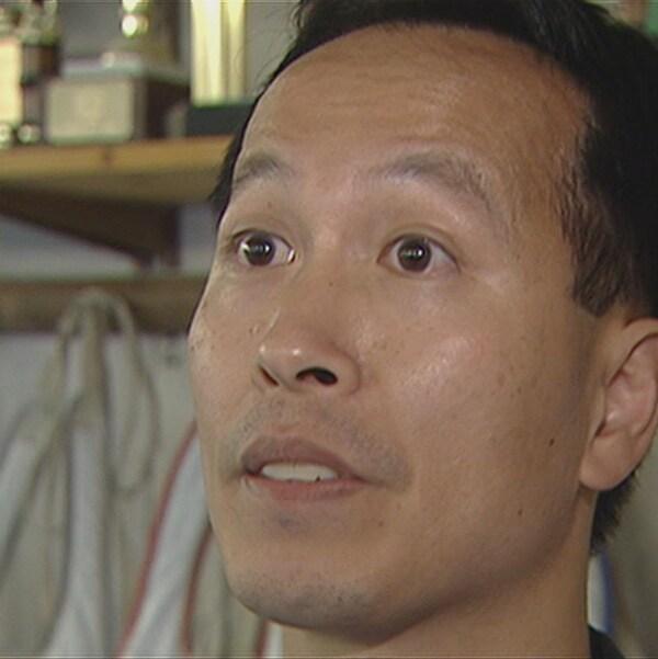 Photographie de King Yeung, ancien instructeur en chef à la Kang's Taekwondo Academy