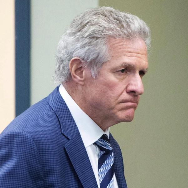 L'homme d'affaires Tony Accurso lors de son procès à Laval, le lundi 13 novembre 2017.