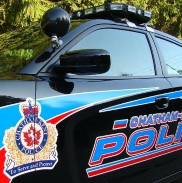 Voiture de police de Chatham-Kent