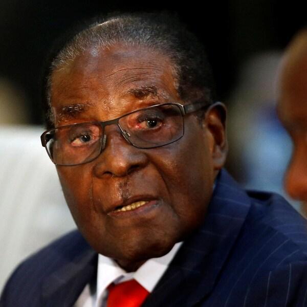 Le président du Zimbabwe, Robert Mugabe, le 3 octobre dernier.