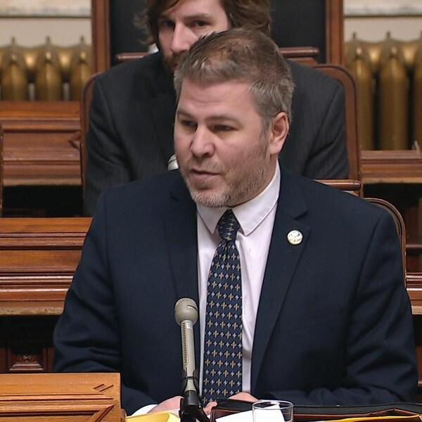 Le député péquiste Pascal Bérubé