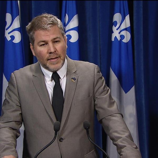 Le leader parlementaire du Parti québécois, Pascal Bérubé.