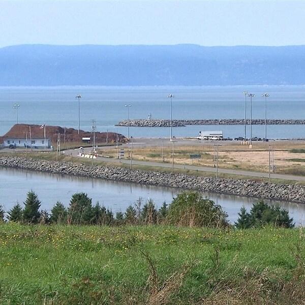 Port de Gros-Cacouna.