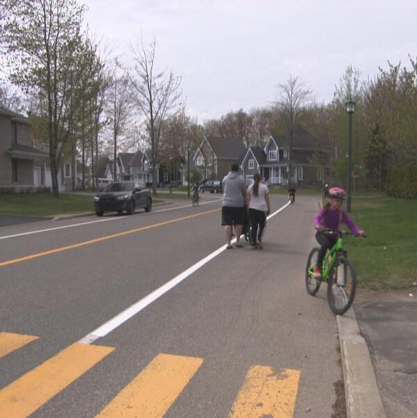 Des résidents du secteur Pointe-du-Lac à Trois-Rivières s'inquiètent de la vitesse à laquelle certains automobilistes circulent dans leur quartier.