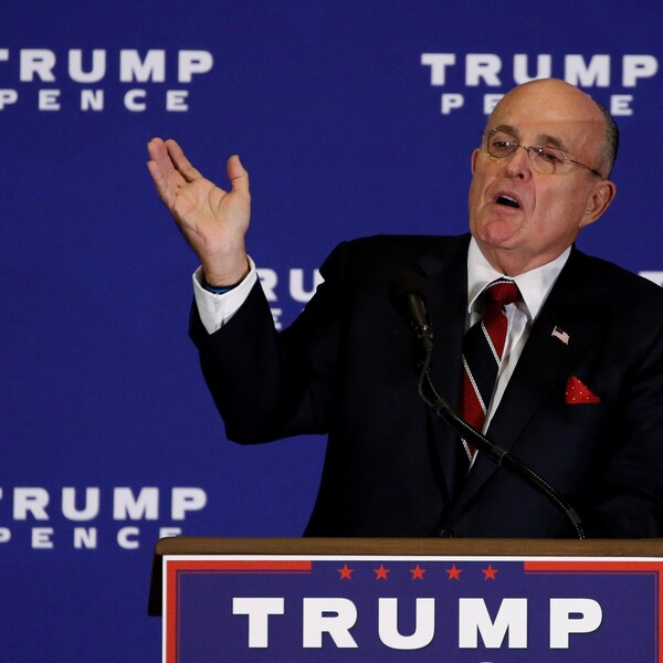 Rudy Giuliani,  ancien maire de New York