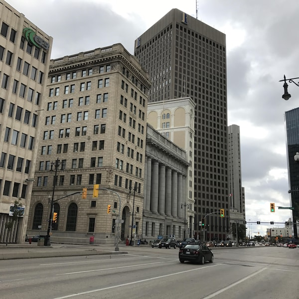 La rue Main à Winnipeg.