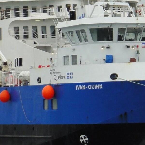 Traversier Ivan-Quinn aux Îles-de-la-Madeleine