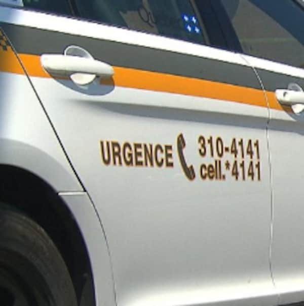 Un véhicule de la Sûreté du Québec