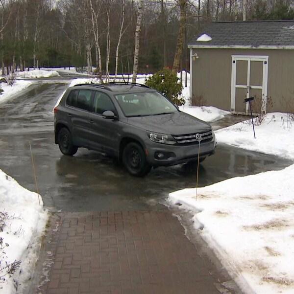 Une Tiguan de Volkswagen.