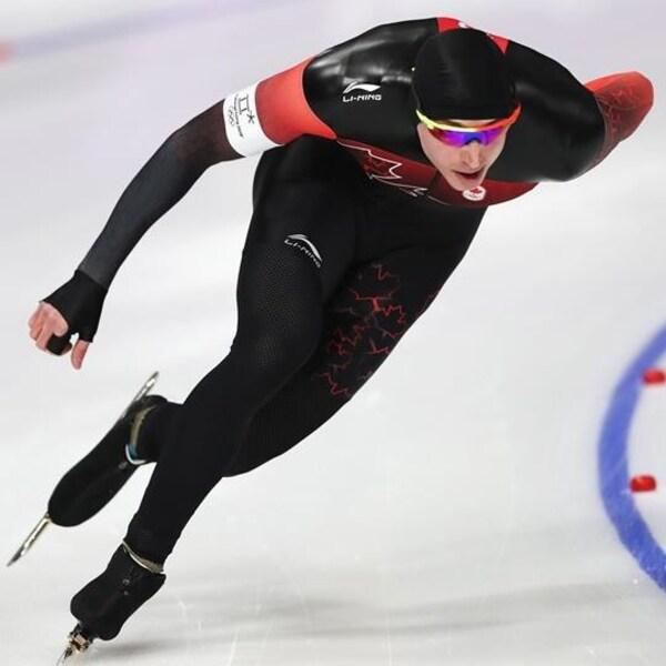 Alex Boisvert-Lacroix en 10e au 500 m en patinage de vitesse