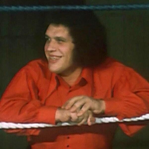 André Roussimoff (le géant Ferré) à l'émission  Appelez-moi Lise  en 1972 | ©Radio-Canada