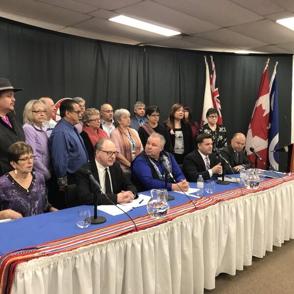 La MMF entreprendra des recours légaux contre le gouvernement du Manitoba pour la résiliation d'une entente entre la MMF et Hydro Manitoba.