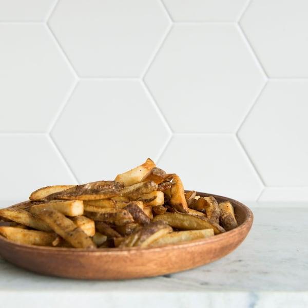 Des pommes de terre frites au sumac.