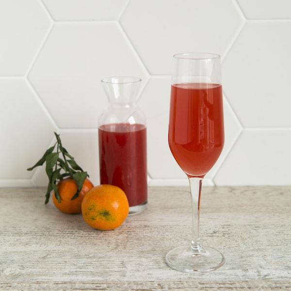 Un cocktail aux oranges sanguines.