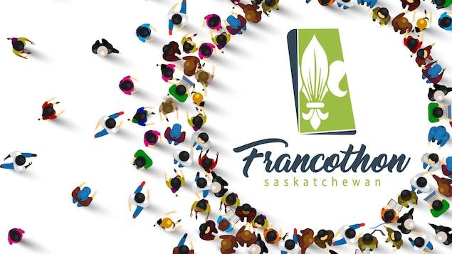 Logo du Francothon Saskatchewan 2020.