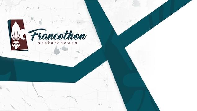Le logo Francothon Saskatchewan.