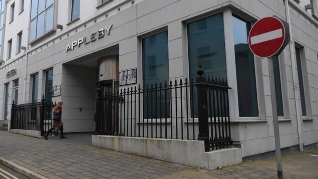 Façade d'un immeuble qui abrite des bureaux d'Appleby.