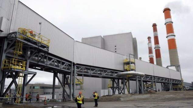 La centrale électrique au charbon de Boundary Dam, en Saskatchewan.