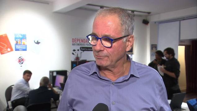 « Je ne suis pas le chef de Québec solidaire », dit Gaétan Châteauneuf | Élections Québec 2018 ...