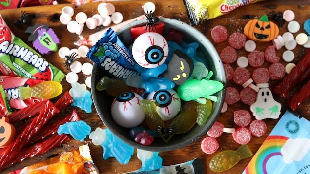 Des bonbons végétaliens pour l'Halloween