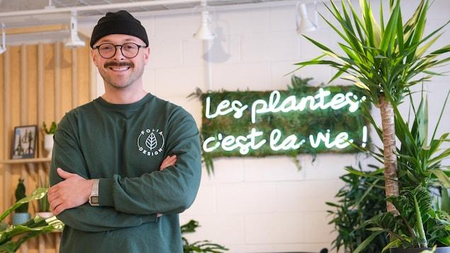 Marc Champoux, propriétaire de Folia Design