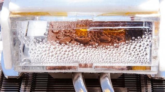 Le nouveau dispositif permet d'extraire l'humidité d'un air très sec.