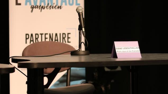 Diane Lebouthillier refuse de participer à un débat avec un candidat non vacciné