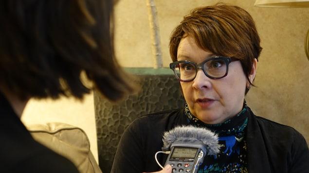 Élise Turcotte en entrevue