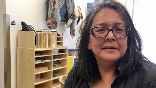 Anice Ottawa est éducatrice au CPE Premier Pas de Trois-Rivières