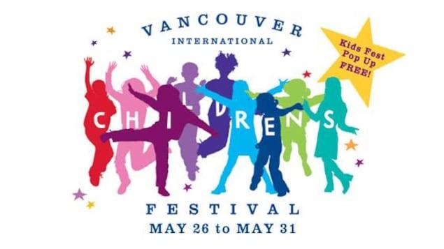 l'affiche du Festival international des enfants de Vancouver.