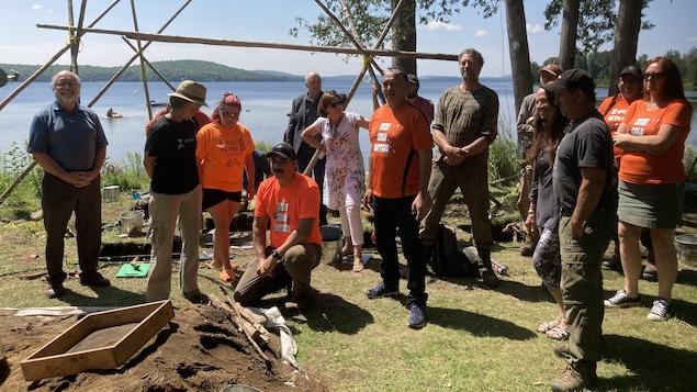 La communauté de Kitigan Zibi sur les traces archéologiques de ses ancêtres