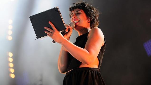 Queen Ka au concert « Desjardins, On l'aime-tu! » aux 29es FrancoFolies de Montréal