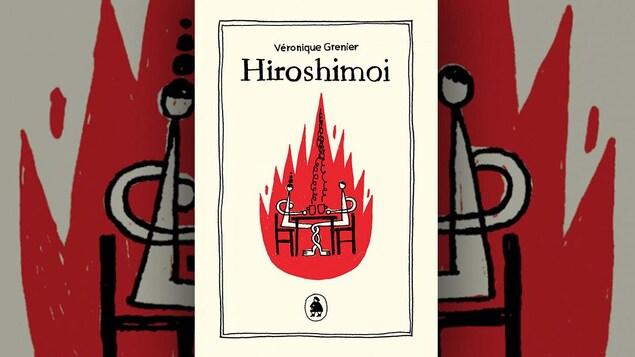 La couverture d'« Hiroshimoi » de Véronique Grenier (Les éditions de ta mère)
