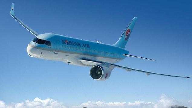 Bombardier livre son premier cs300 korean air lines for Lien dans une nouvelle fenetre