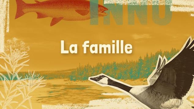 Lexique innu-français des mots et expressions liés à la famille.