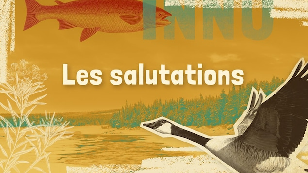Lexique innu-français des mots et expressions liés aux salutations.