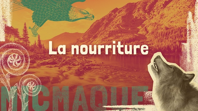 Lexique micmaque-français des mots et expressions liés à la nourriture.