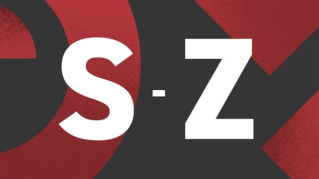 Image illustrant les lettres S à Z.