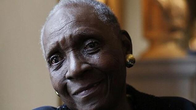 Portrait de Maryse Condé.