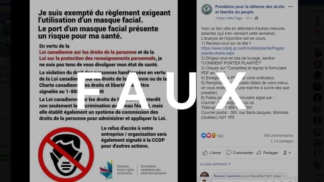 C'est un texte comportant le logo de la Commission canadienne des droits de la personne.