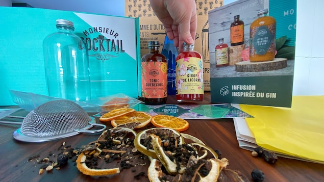 La boîte de «mocktail» de Monsieur Cocktail