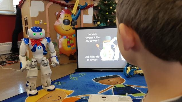 Troubles d'apprentissage: un robot pour motiver les élèves