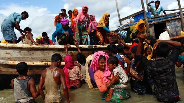 La crise des rohingyas discut e au conseil de s curit de for Lien dans une nouvelle fenetre